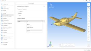 simFlow CFD software plane