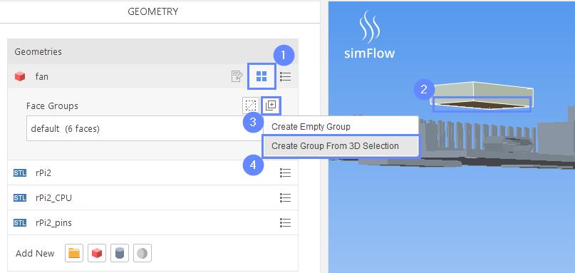 Electronics Cooling - simFlow CFD